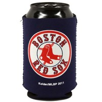 Boston Red Sox Navy Blue Collapsible Can Koozie