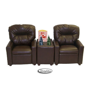 Dozy Dotes Theater Seating Kid's Recliner
