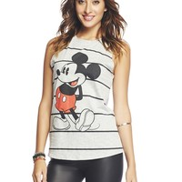 Mickey Mouse™ Striped Tank   Wet Seal