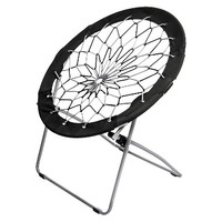 Room Essentials Gray/Black Bungee Chair