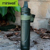 Straw Water Filter Straw 0.05micron filter accuracy for Emergency & Army Life portable water purifier