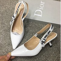 Dior letter with sandals