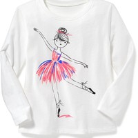 Graphic Tee for Toddler Girls | Old Navy