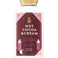 Bath & Body Works HOT COCOA CREAM Body Lotion 8 oz