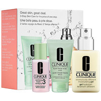 Great Skin, Great Deal Set for Combination Oily Skin - CLINIQUE | Sephora