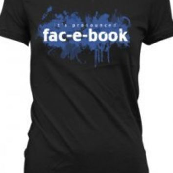 Fac-e-book Girls T-Shirt - OMFG It's Jack and Dean