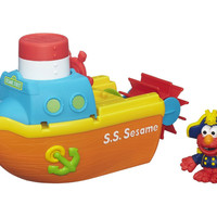 Playskool Sesame Street Elmo Bath Adventure Steamboat