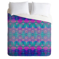 DENY Designs Home Accessories   Amy Sia Watercolour Tribal Pink Duvet Cover