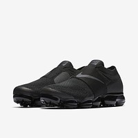 Nike Air VaporMax Moc FK Flyknit Triple Black Running Shoes