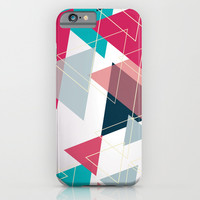 Triangle Pattern iPhone & iPod Case by Ashley Hillman