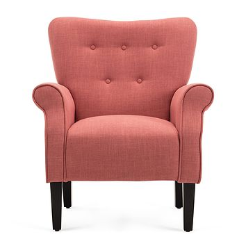 Modern Accent Chair (Brick)