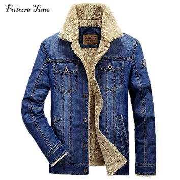 Trendy M-6XL men jacket and coats brand clothing denim jacket Fashion mens jeans jacket thick warm winter outwear male cowboy YF055 AT_94_13