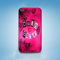 Mean Girls Burn Book customized for iphone 4/4s/5/5s/5c ,samsung galaxy s3/s4/s5 and ipod 4/5 cases