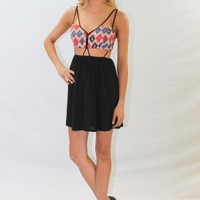 Dual Strap Bustier Style Dress - Always a Runway Clothing