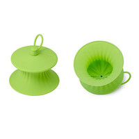 SILICONE LEMON PRESS - SET OF 2 | Squeeze, Lime, Lemon, Squish, Spout, Store | UncommonGoods