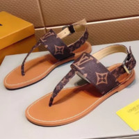 Louis vuitton LV Fashion casual sole sandals