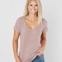 BKE core Fleece Top - Women's Shirts/Blouses in Mauve Ivory | Buckle