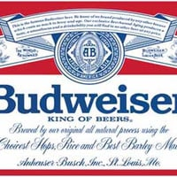 Budweiser King of Beers Logo Poster 11x17