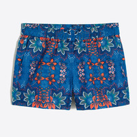 "3"" printed boardwalk pull-on short"
