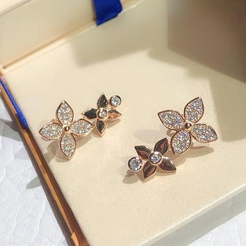 LV Louis Vuitton Fashion Pendant Earrings Accessories Jewelry