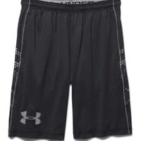 Under Armour Raid Graphic Shorts for Men in Black 1269286-001