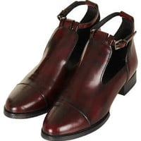 KATZ2 Cut Out Shoes - Take A Darker Turn  - New In