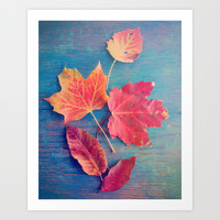 The Colors of Autumn Art Print by Olivia Joy StClaire