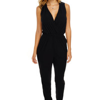 Corinne Jumpsuit - Black