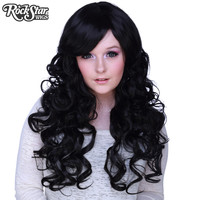 "Cosplay Wigs USA™  Curly 70cm/28"" - Black -00304"