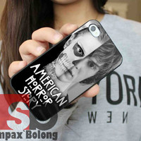 American Horror Story skull Tate for Samsung S3, S4 and iPhone 4/4S, 5/5S, 5C - Hard Plastic Case, Rubber Case