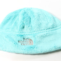 The North Face Girl's Denali Thermal Mint Blue Beanie Hat