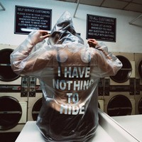 I HAVE NOTHING TO HIDE JACKET
