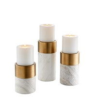 Marble Candle Holder Set | Eichholtz Sierra