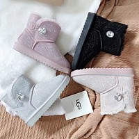 UGG Classic Boot With Crystals