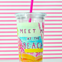 LILLY PULITZER: Tumbler - Meet Me at the Beach