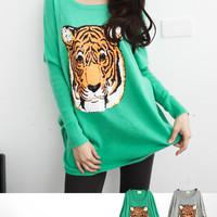 The Wild Side Angora Knit top - Mexy  - New fashion clothing & accessories for smaller size women like you - Mexy Shop