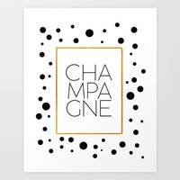 Celebration,Bar Quote,Typography Print,Drink Champagne,Champagne Sign,Wall artwork,Bar Poster Art Print by MichelTypography