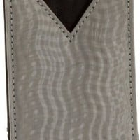 Stewart/Stand Double Wave Texture V-Pouch Card Case