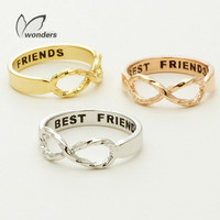 BFF Infinity Best Friends Ring
