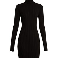 Roll-neck ribbed-knit wool-blend dress | Wolford | MATCHESFASHION.COM US