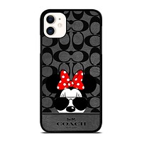 COACH NEW YORK DISNEY MICKEY MOUSE iPhone 11 Case