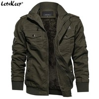 Trendy M-6XL LetsKeep Winter Fleece bomber jacket men badges military army jackets coat mens tactical parkas Outerwear Plus size, MA498 AT_94_13