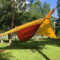 40D Nylon Hammock Tent Double With 20D Silicone Awning