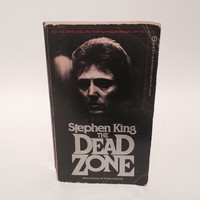 The Dead Zone by Stephen King 1980 Paperback Movie Tie-In Edition