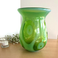 Vintage Fenton International Optics Vase