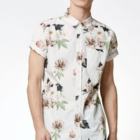 Miller Floral Pocket Short Sleeve Button Up Shirt
