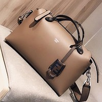 Fendi New Fashion Leather Shopping Leisure Shoulder Bag Handbag