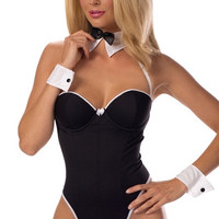Bustier Bunny Babe Costume