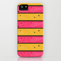 Cute Stars & Stripes iPhone Case iPhone & iPod Case by PinkBerryPatterns