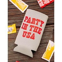 Party In The USA Tall Drink Sleeve